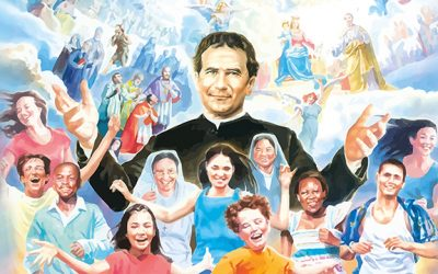 La Familia Salesiana celebra la fiesta de su fundador, Don Bosco.