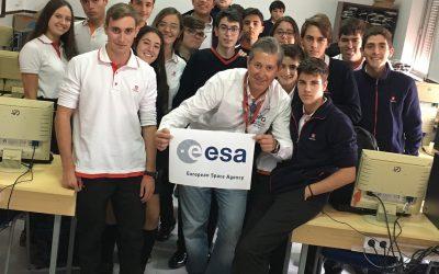 D. Alejandro Gallego Romero, profesor del centro, ha sido seleccionado por la agencia espacial europea (ESA)
