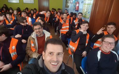 """Visita a la ETAP de """"El Cañuelo"""" –  Alumnos 1º Bachillerato"""