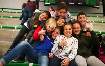 Alumnos de la categoria de Alevín participan en la Copa Andalucia con gran éxito